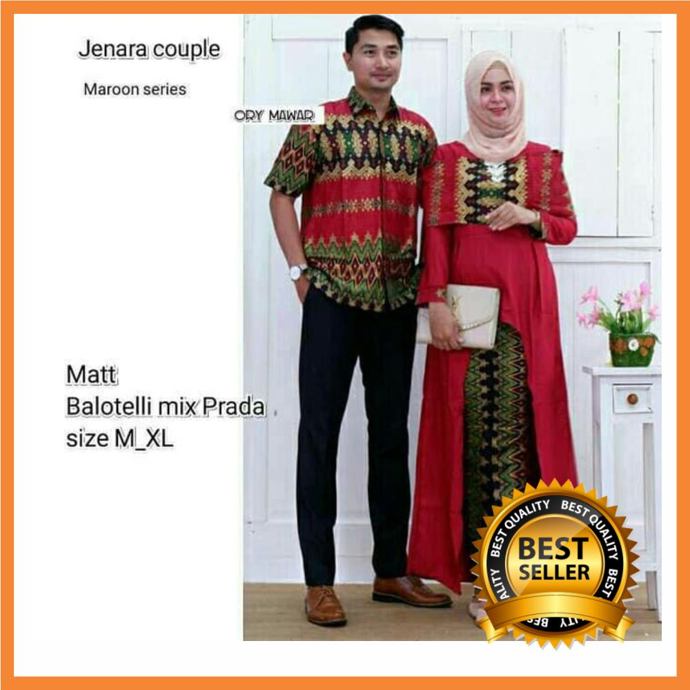 Batik Couple / Baju Couple / Muslim Couple / Batik Couple Keluarga / Batik Keluarga / Batik Modern / Batik Pasangan Original Pengarjin