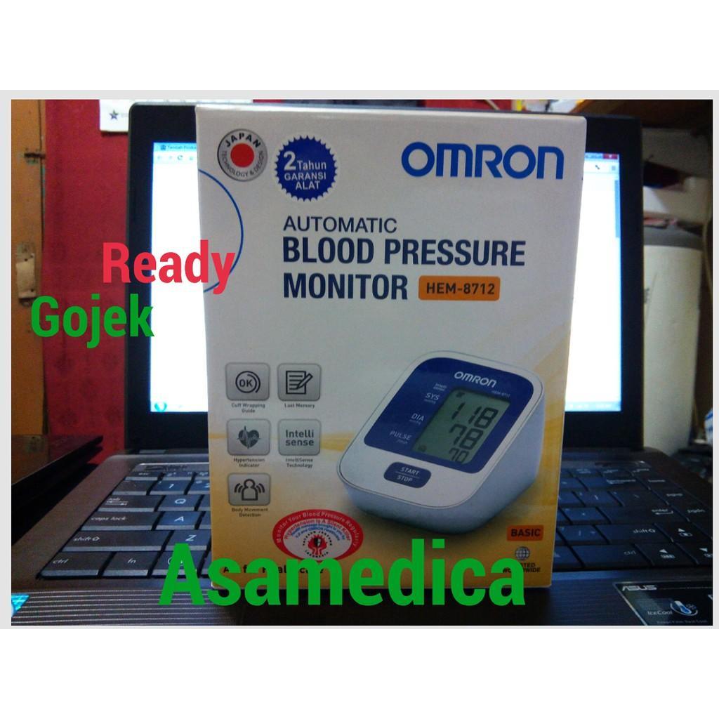 Harga Tensimeter Omron Hem 8712 November 2018 Spesial Digital Blood Pressure Garansi Tensi Meter Monitor