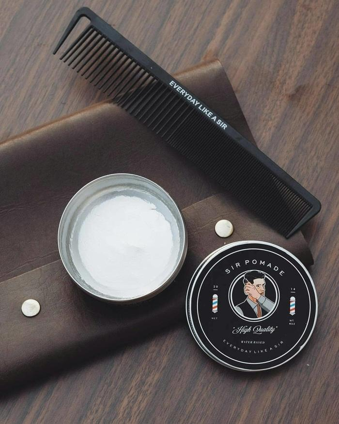 New Sir Pomade Essential Strong Hold High Shine - 1st Generation - vc7aeua