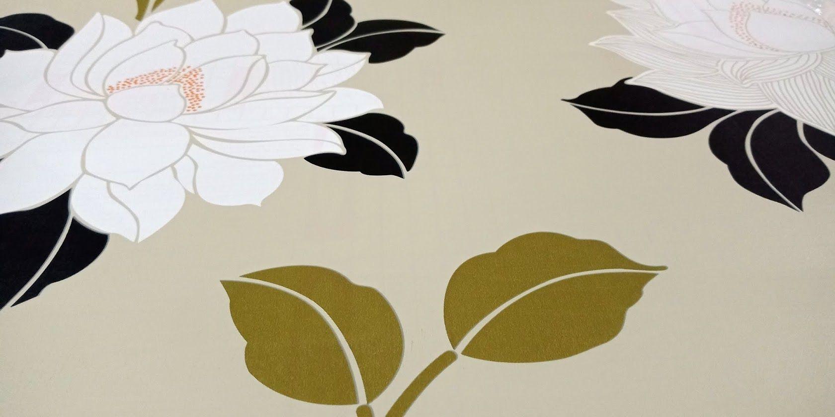 Features Wallpaper Sticker Dinding Krem Motif Daun Klasik Dan Harga Batu Bata Detail Gambar Terbaru