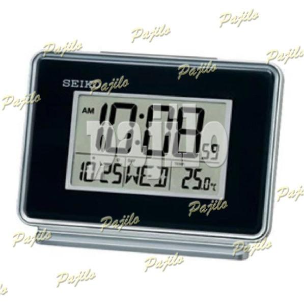 ORIGINAL Jam Digital Dinding SEIKO - QHL068K Beker Jam Weker Stand Diri Meja Kantor Rumah Jam Alarm Minimalis Jam Klasik Classic Clasic Vintage Tanggal Temperatur Pengukur Suhu Kalendar Modern SEIKO - QHL068K ORI