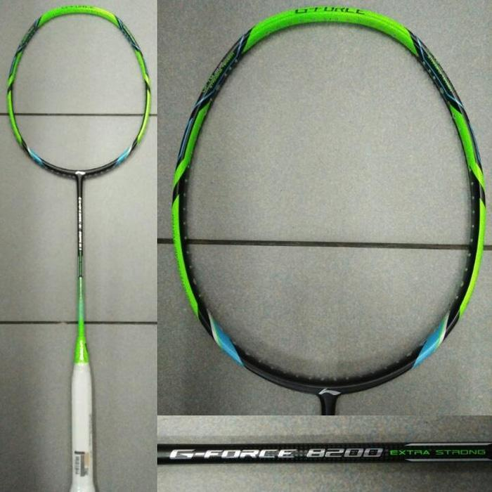 Raket Badminton Lining G-force 8200 EXTRA STRONG / G FORCE 8200 New - AJ1e6p