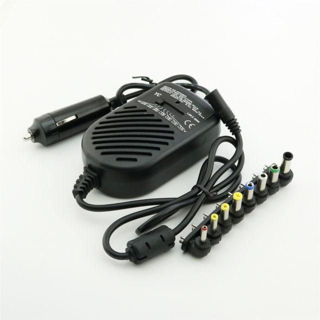 Universal Car Charger untuk Laptop / Auto DC Power Regulated Adaptor for Notebook,Netbook 80w 12v