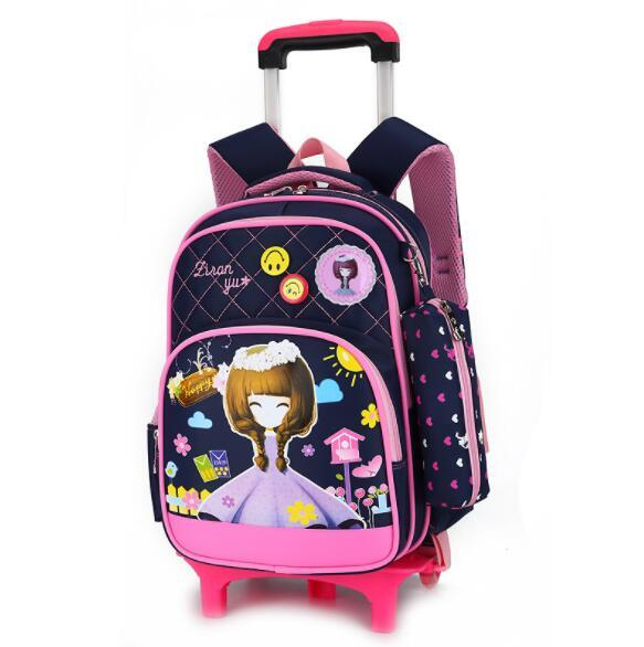 b380a8b0690c Kids Trolley Bags for sale - Rolling Backpack for Kids online brands ...