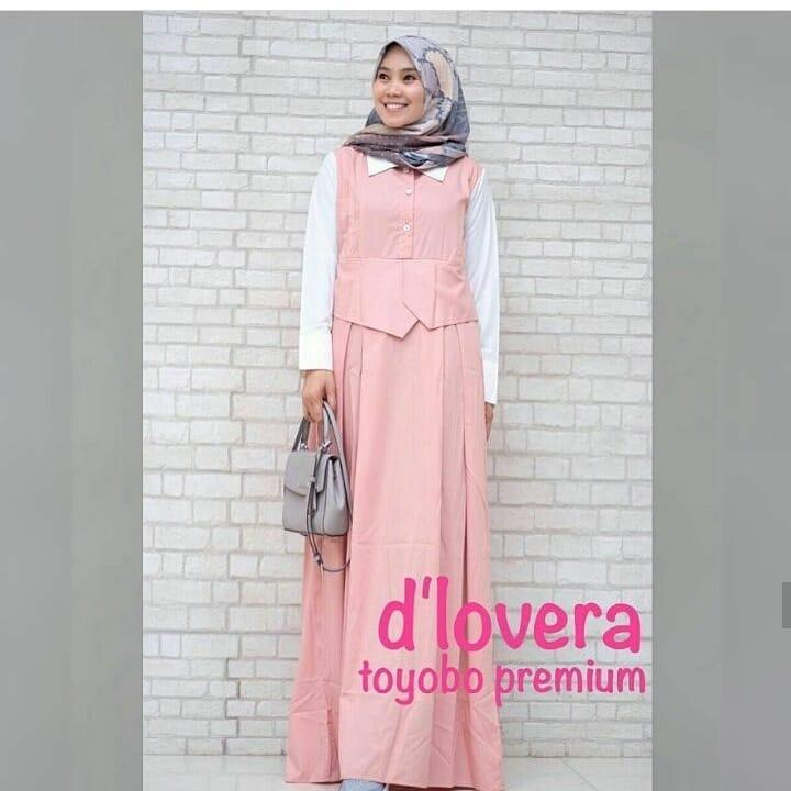 Gamis Luwi Dress Balotelly Baju Wanita Panjang Muslim Casual Wanita Pakaian Hijab Modern Baju Gaun Pesta Modis Trendy Baju Model Terbaru 2018