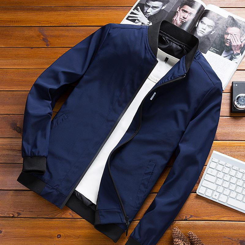Men Thin Type for Spring And Autumn Jacket Summer Korean Style Trend  Handsome Clothes Men s Top 8a9b7e7590fa