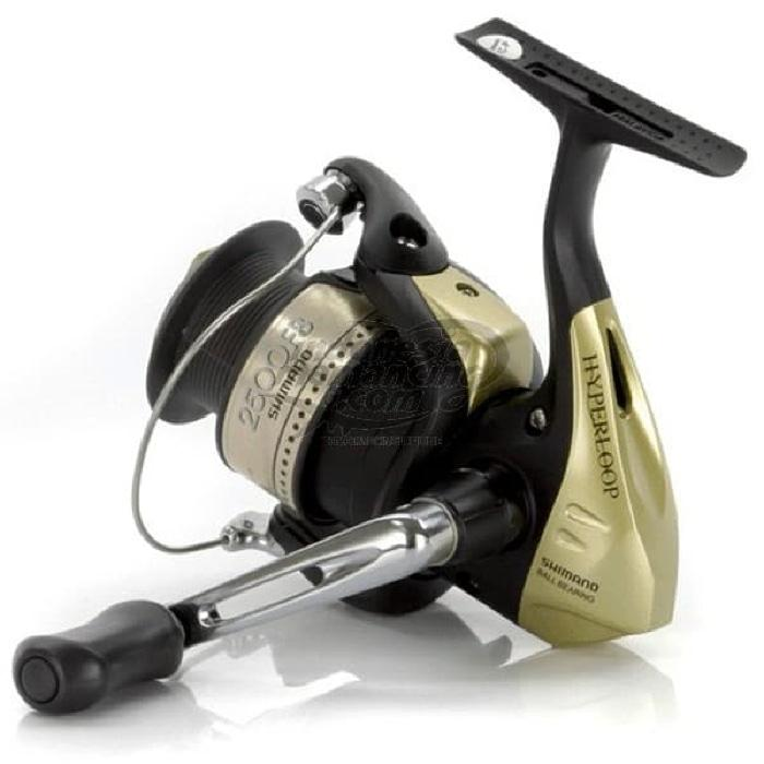 Reel Pancing Spinning Shimano Hyperloop ukuran 2500FB - Y6PsXY
