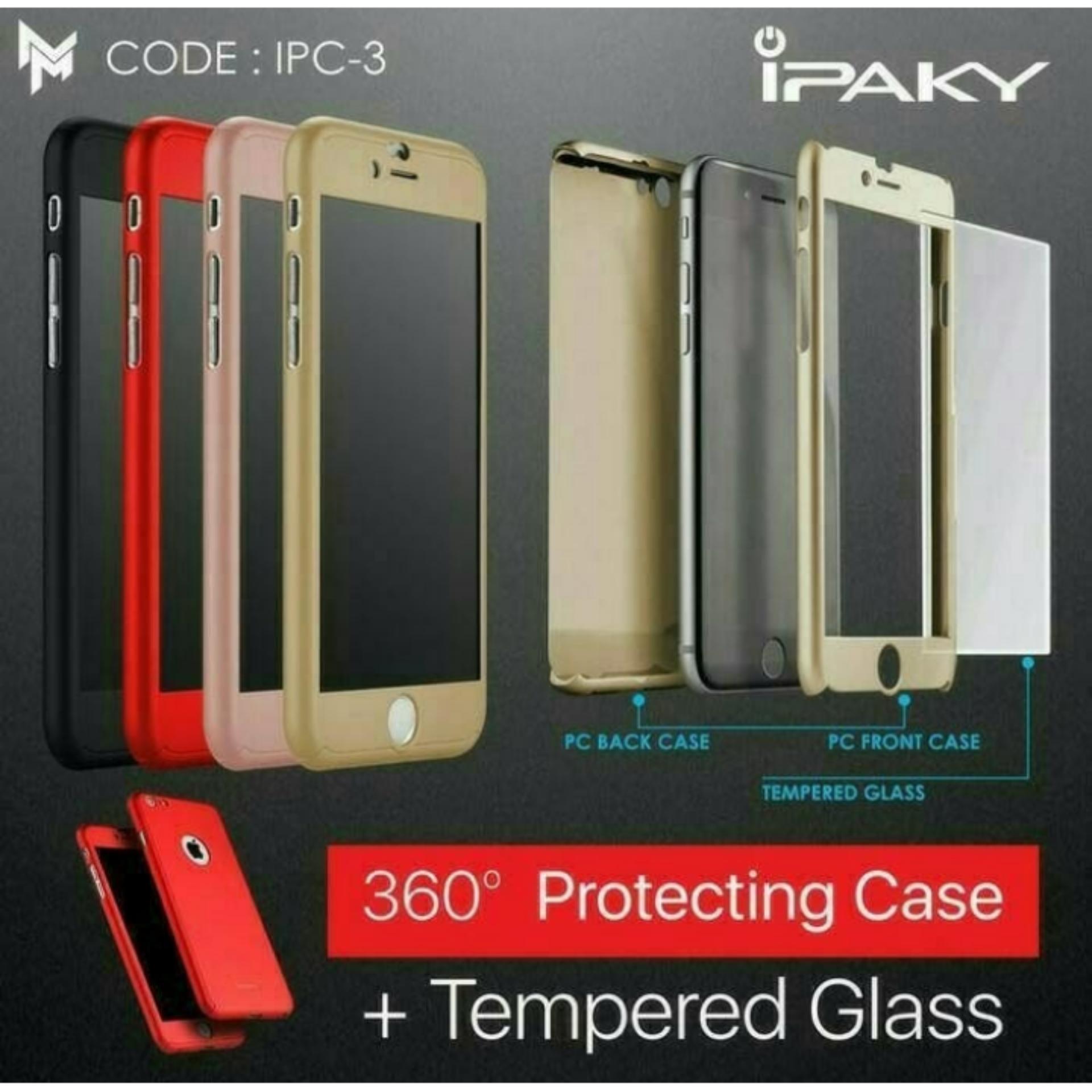 Kehebatan Case Ipaky 360 For Motorola Moto E4 Full Body Protection Tempered Glass Plus Cover Warna Casing Free