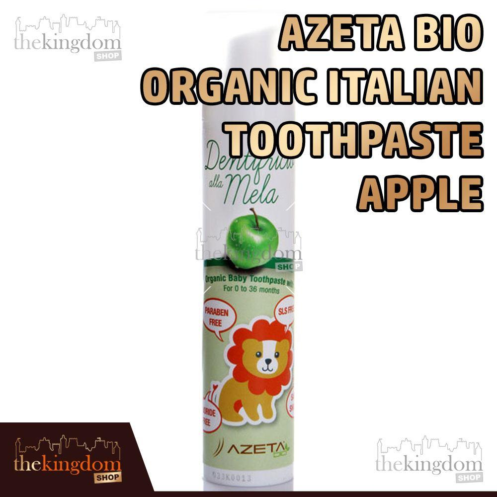 Buy Sell Cheapest Azeta Bio Organic Best Quality Product Deals Baby Hair Gel 50ml Italian Toothpaste Apple Pasta Gigi Anak Bayi