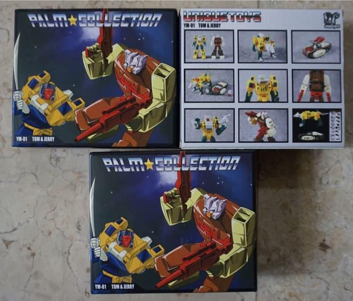 BEST SELLER!!! Unique Toys - Tom & Jerry / Chromedome & Wolfwire / Transformers Head - DzGOCV