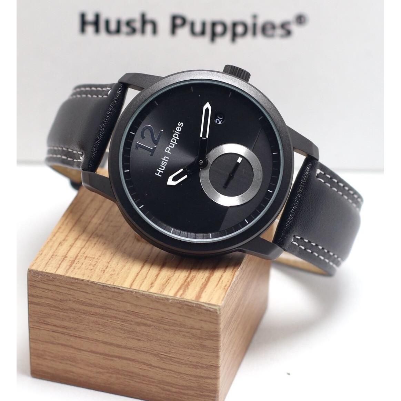 Jam Tangan Pria / Cowok Murah Hush Puppies Clasic tali kulit
