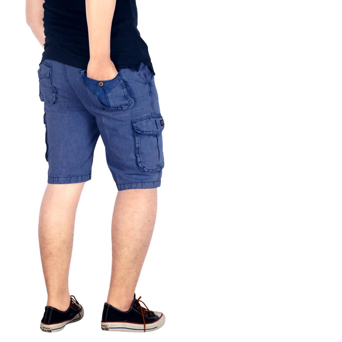 BSG_Fashion1 Celana Pendek Polos Navy Distro/ Celana Skinny/Celana Pants/ Celana Santai/