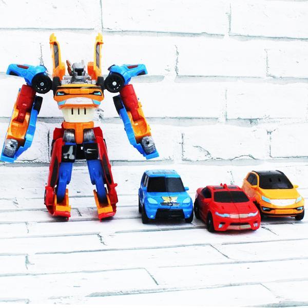 Tobot Tritan - 1 Robot Bisa Berubah Menjadi 3 Mobil - 3 Cars Combine