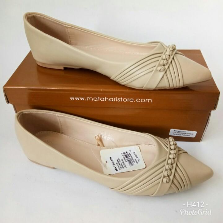 Sepatu Flat Connexion LE8KH704 sepatu loafers sepatu wanita sepatu slipon sepatu branded sepatu