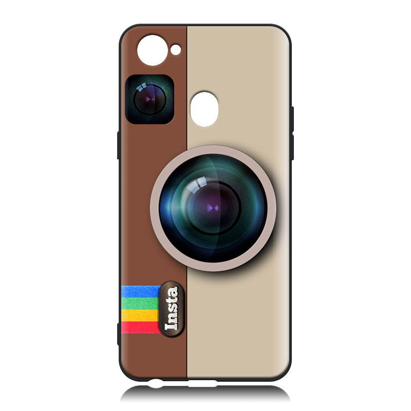 Retro Instagram Case For Oppo F7 - Softcase