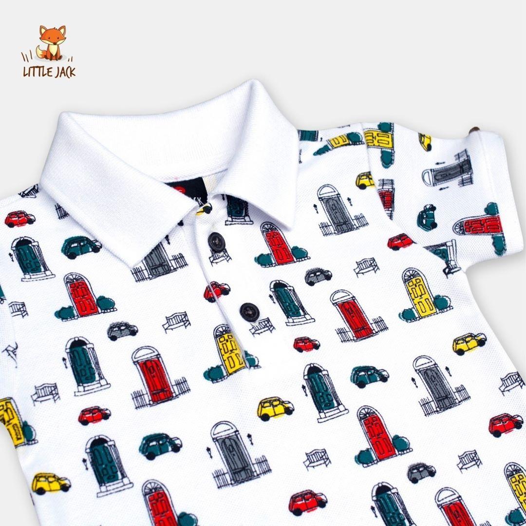 Polo Shirt Urban Car Baju Bayi Lucu Kaos Kerah Anak Distro Laki Cowo