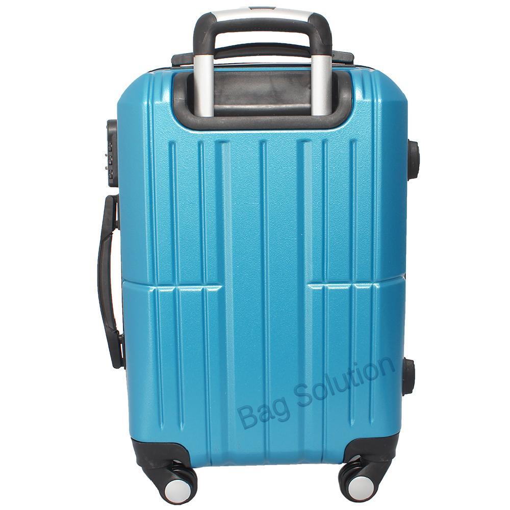 ... Real Polo Tas Koper Hardcase Fiber ABS - 4 Roda Putar - GGAG Size 20 Inch