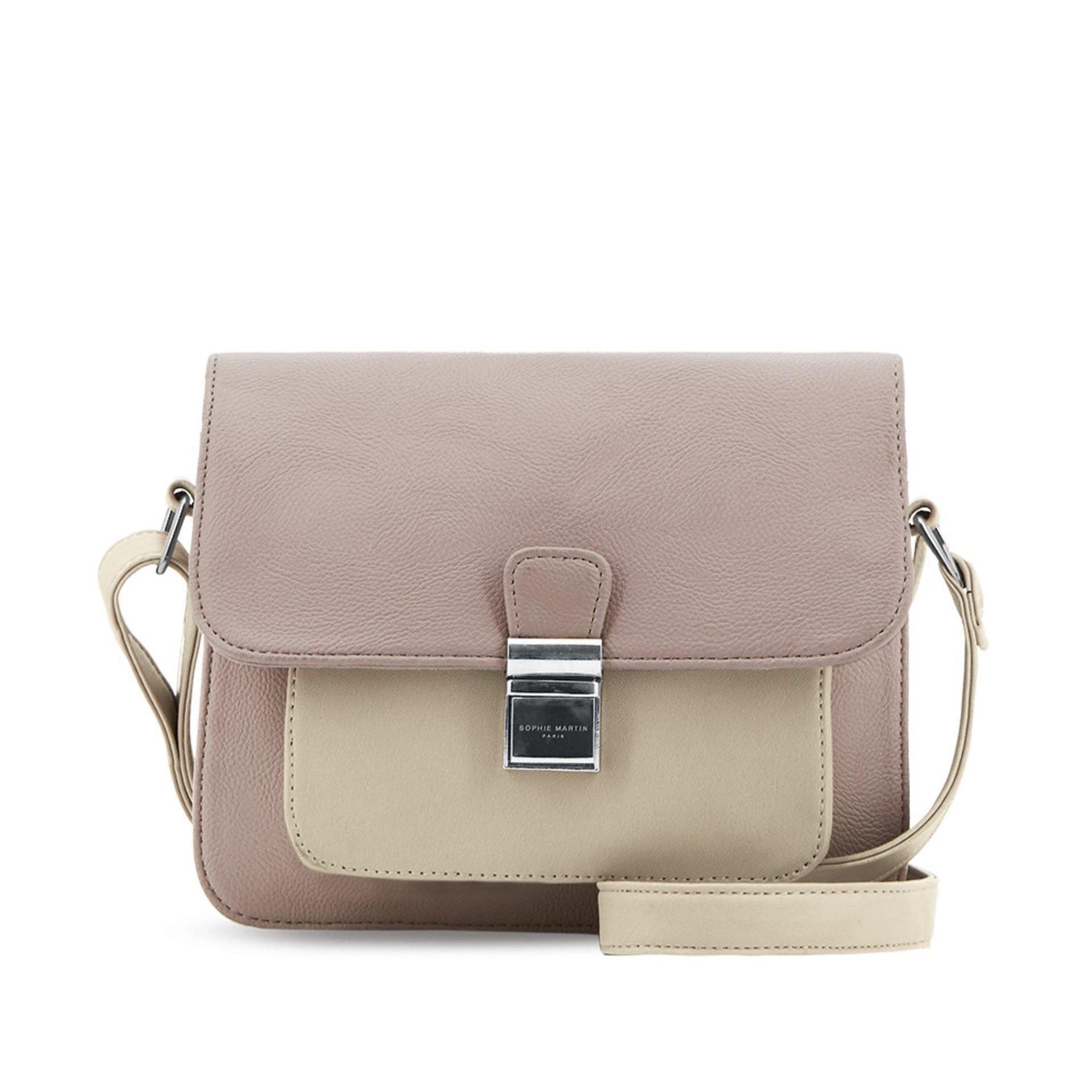 Toko Jual Sophie Paris Tas Wanita Import Branded Bidonville Bag Selempang Kamera Pria Premium Bonnevalis T4244p3 Cokelat