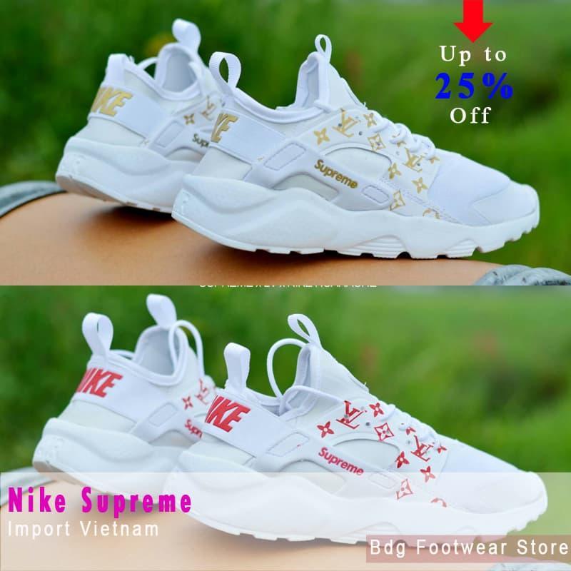 Promo Sepatu Olahraga Nike Supreme Sport Sneaker Running Pria Jogging Casual Fashion
