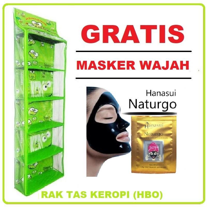 Rak Tas Gantung Karakter 6 Tingkat (GRATIS PROMO) Masker Wajah