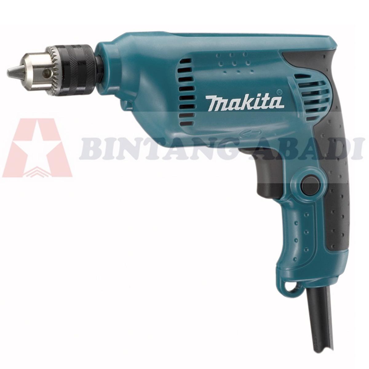 Termurah Makita Mesin Bor Listrik 10 mm 1 Arah / Non-Reversible Drill - 6411 Harga Grosir