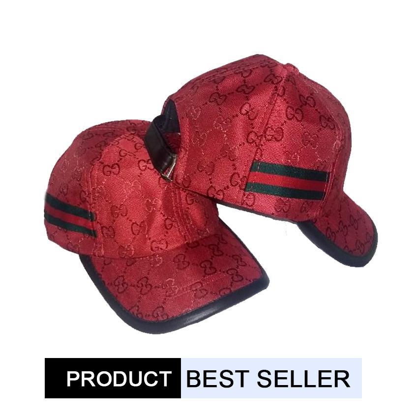 store Jaya topi baseball gucci Red Premium