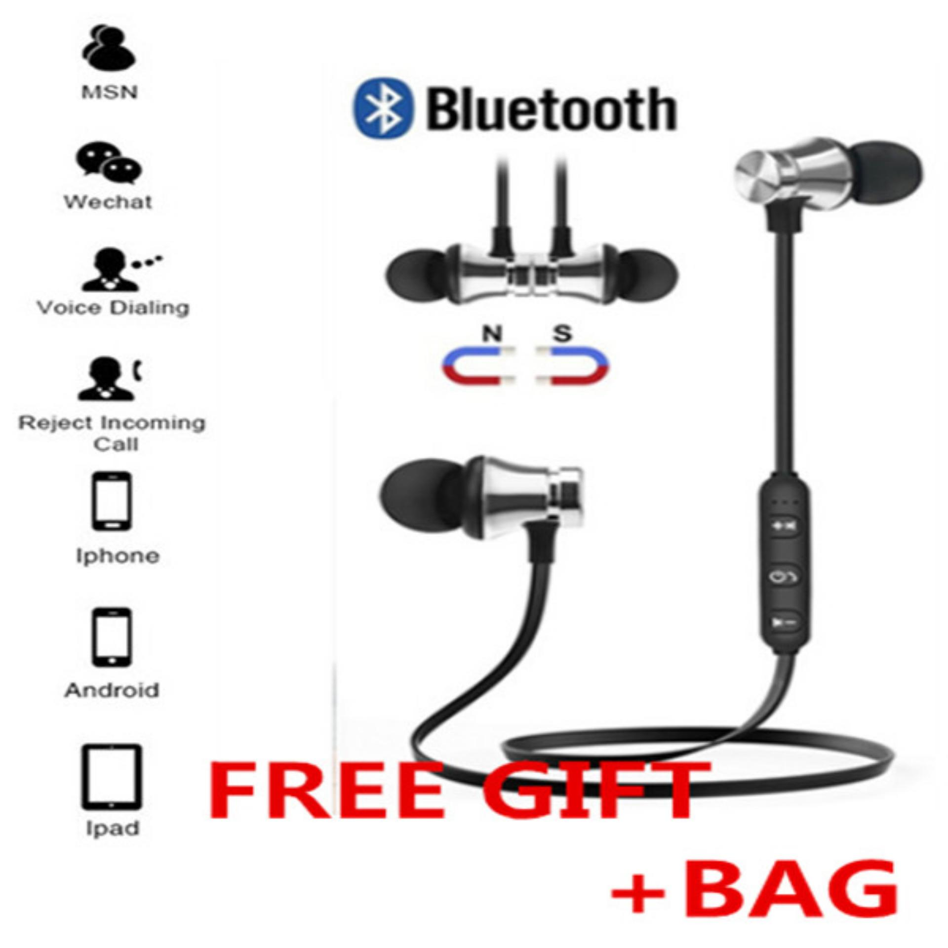 Buy Sell Cheapest Koklopo Bluetooth V4 Best Quality Product Deals Remax Clip On Earphone Receiver Rb T12 White Putih Airforce S8 Stereo Headset V 41 Rendah With Mikrofon Internasional