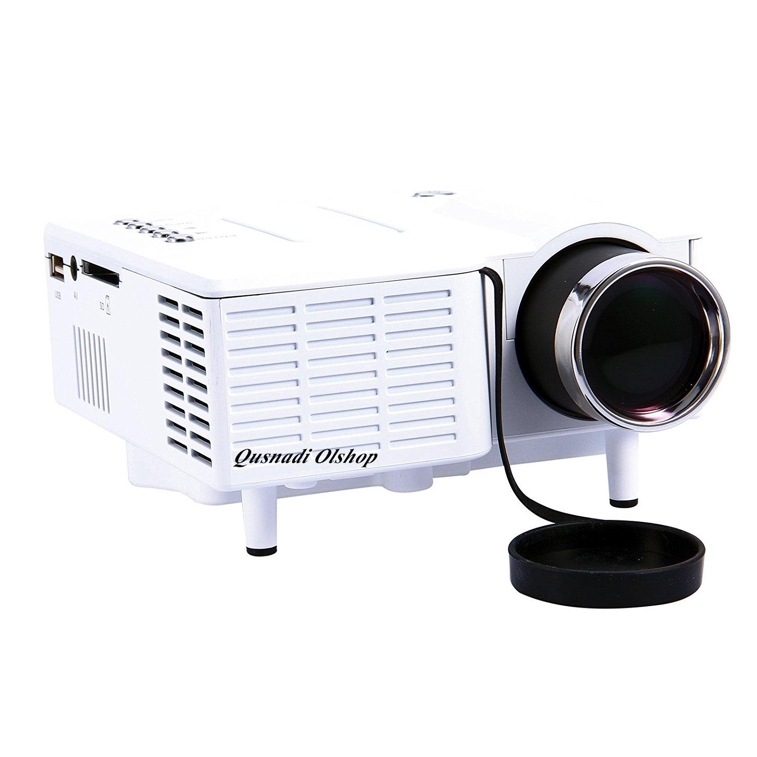 Proyektor Mini Portable Home Theater Infokus UNIC UC28 Projector Ponsel Android untuk Home Teater Notebook Ponsel