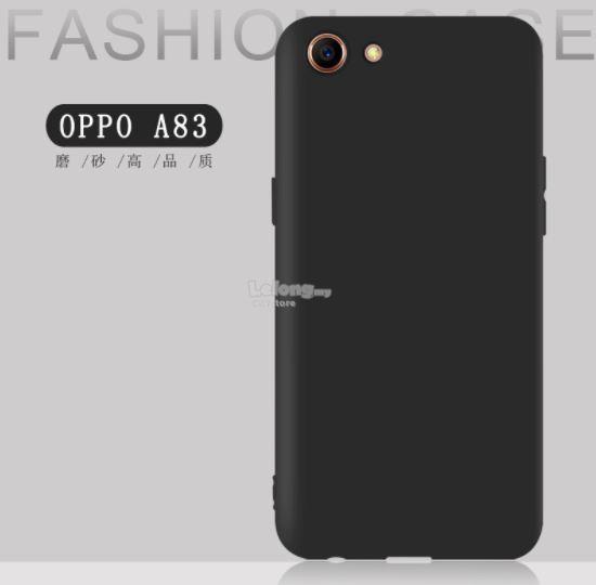 Case Ultra Slim Black Matte For Oppo A83 - Black NU0403 - 2