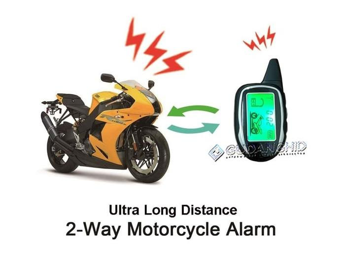 Alarm Motor Remote Starter Master Racing Two Way 2 Way LCD Pager 3KM  - vJy5vD