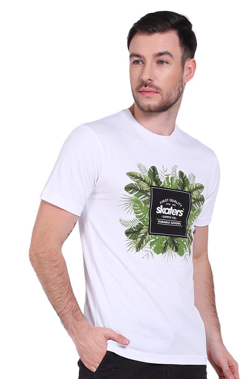 Skaters T-Shirt Kaos Pria TSH OR MLXL-0546 WHITE