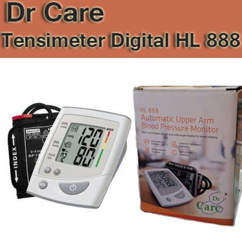 Buy Sell Cheapest Tensimeter Digital Lengan Best Quality Product J 003 Pengukur Tekanan Darah Blood Pressure Monitor Sphygmomanometer Dr Care Hl 888 Atas Hl888