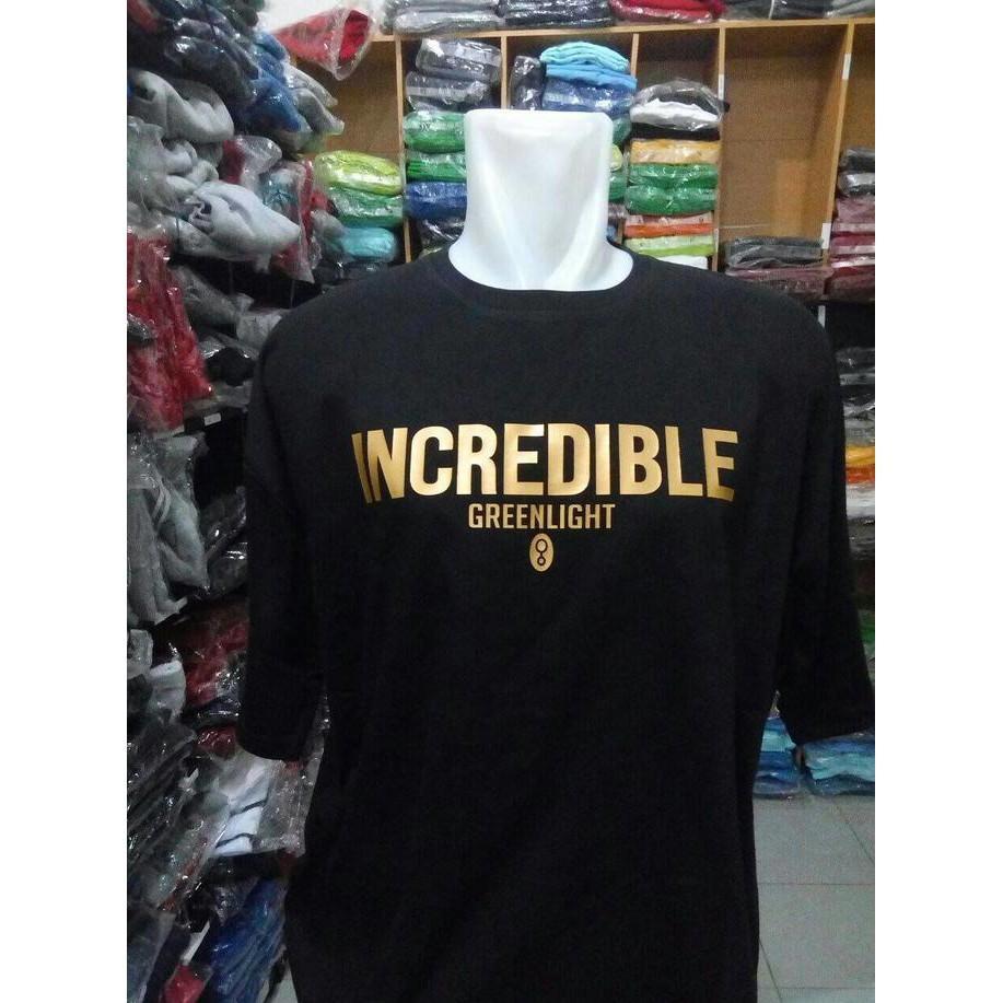 T-Shirt Greenlight/Kaos Greenlight(Hitam) - Sale Promo!!