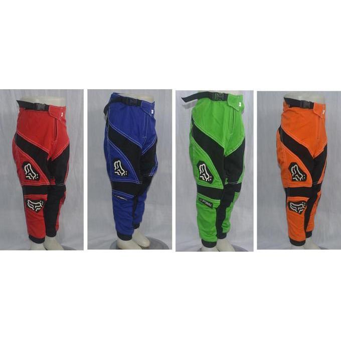 Celana Motocross / Celana Trail Anak / Celana Grasstrack Anak Kecil - Fdefudf
