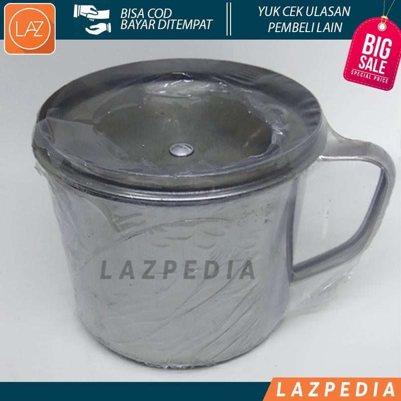 Laz COD - Mug Stainless / Cangkir / Gelas Stainless Mini Uk 11cm Berkualitas Baik & Awet - Lazpedia A180