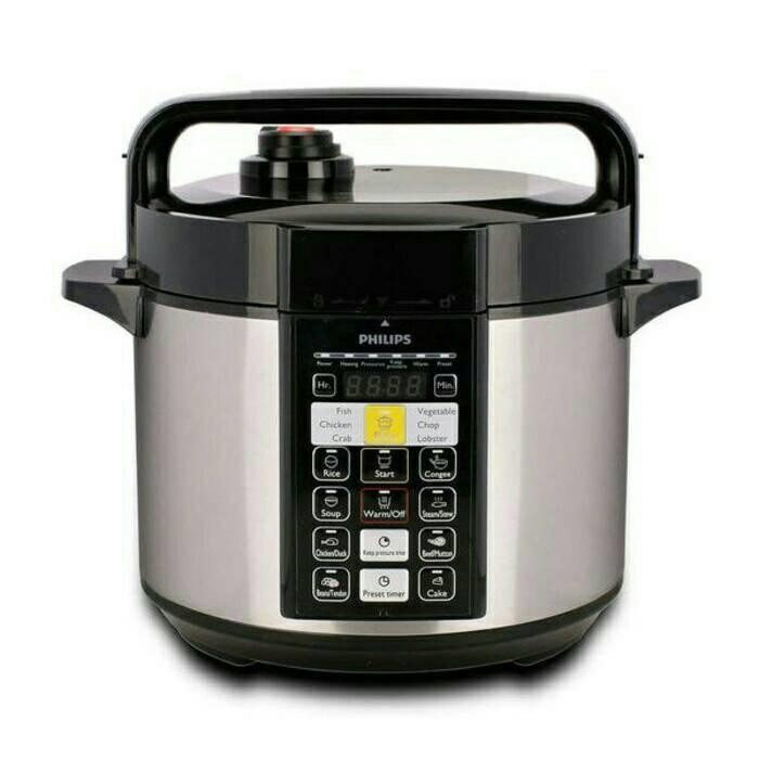 PROMO Electric Pressure Cooker - PHILIPS HD 2136 Alat Presto Digital TERLARIS