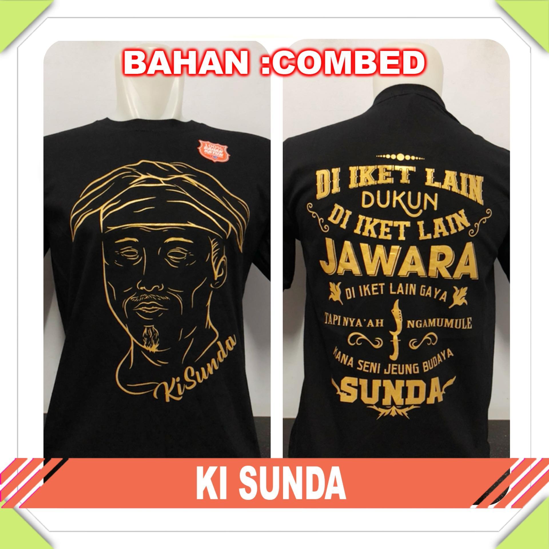 Gracestore - Kaos T-shirt Distro Premium Ki Sunda - Hitam