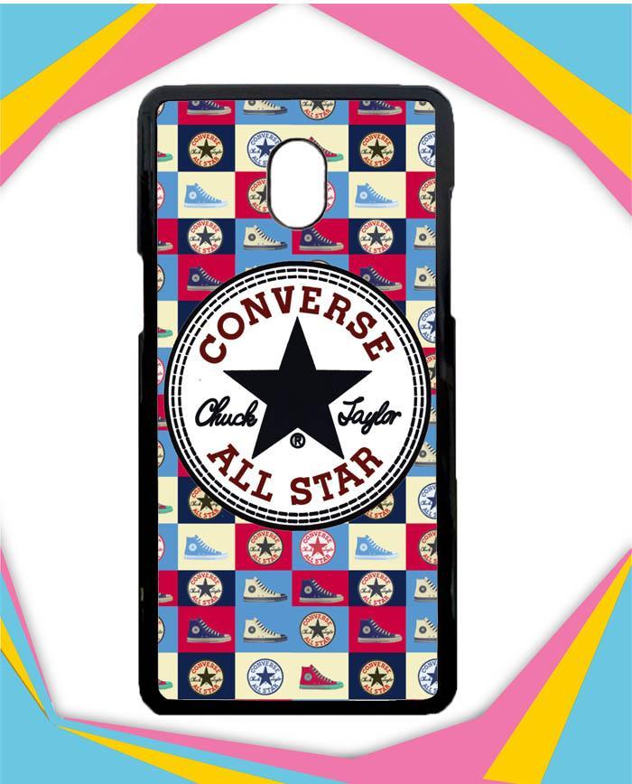 Casing Samsung Galaxy J7 Plus 2017 Custom Hardcase Converse W3050 Case Cover