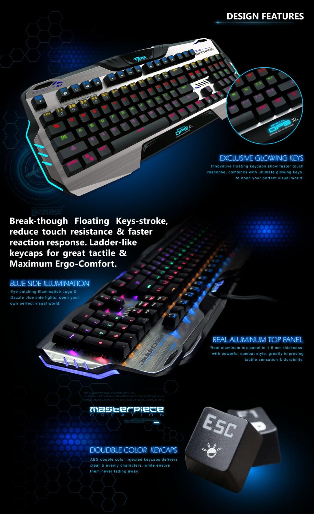 Weitech Zanfu Summoner L580 Mechanical Backlit Gaming Keyboard Cek Predator Mt K9340 Semi E Blue Mazer Ops Xl Di Desain Dengan Khusus Tidak