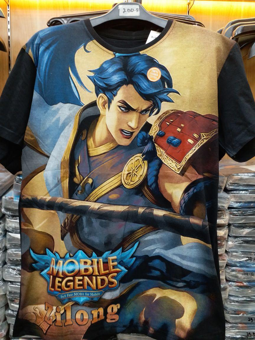 baju kaos Mobile legend
