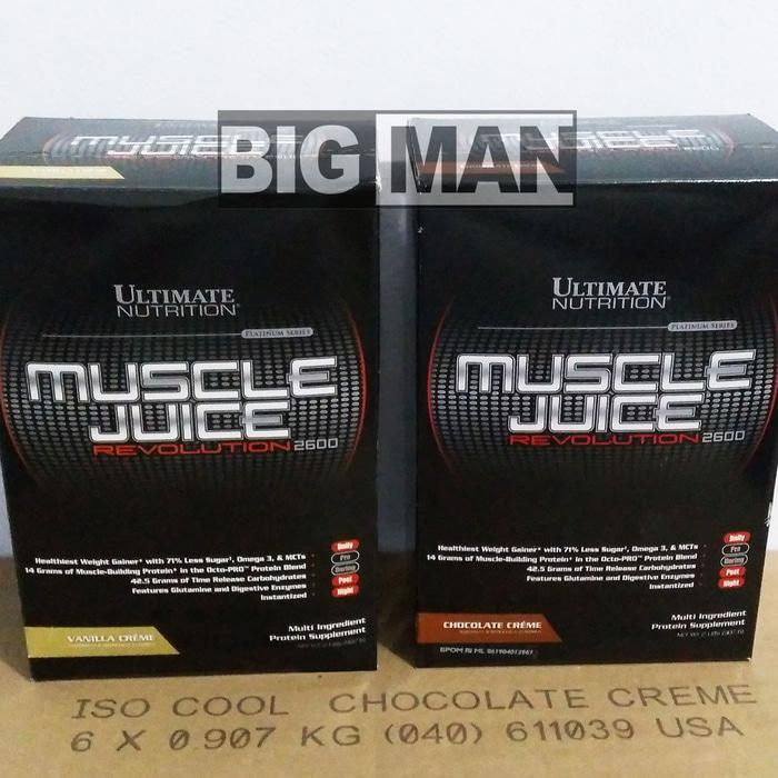 Ultimate Nutrition UN Muscle Juice Revolution 2600 2 Lbs MJ Revo 2 Lbs - aVC7Q8