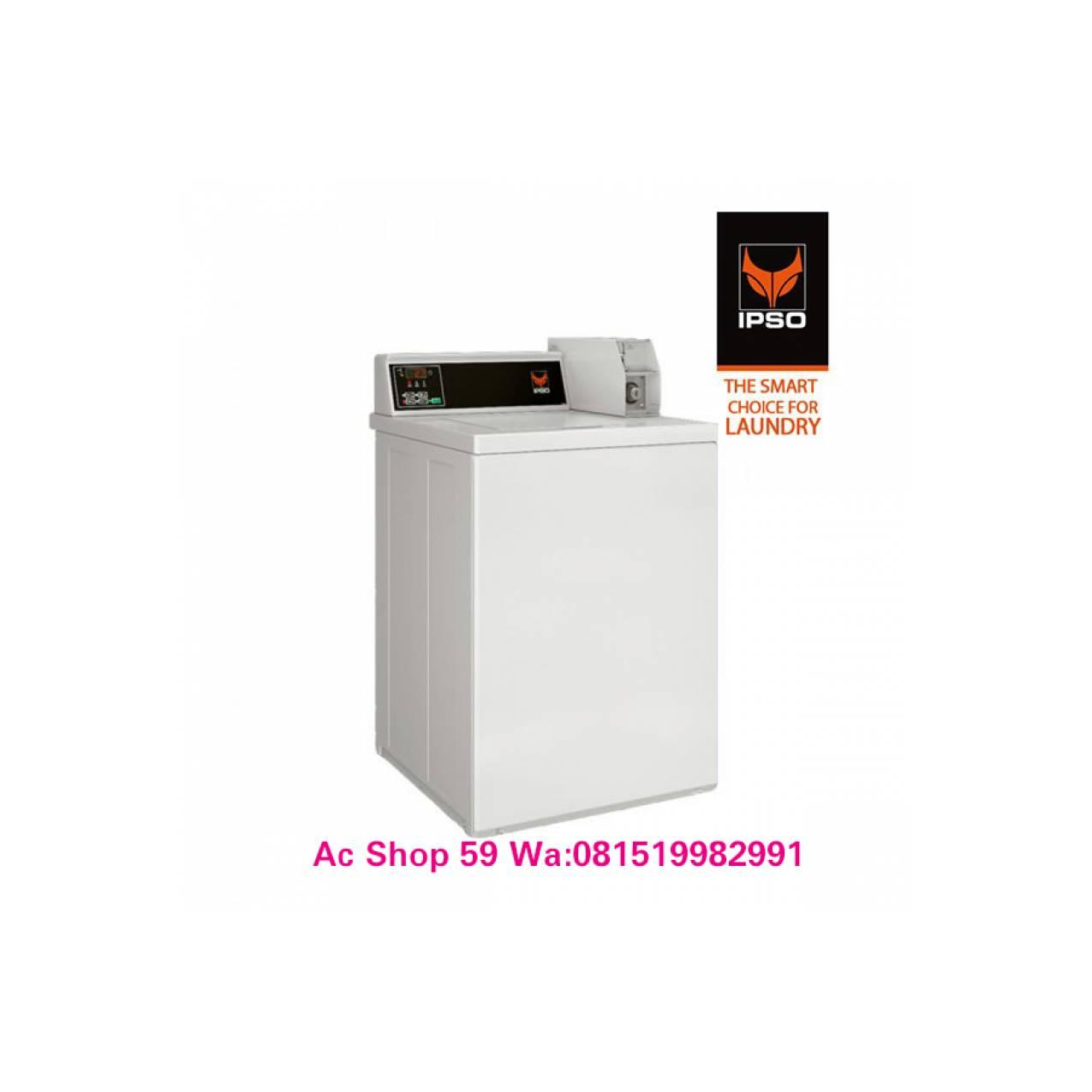 WASHER 10.5 KG IPSO NWN VENDED SINGLE COIN DIGITAL MESIN CUCI NEW