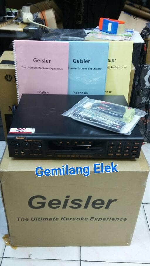 DVD karaoke GEISLER OK-5500 (Hardisk 2 TB)