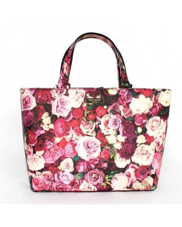 Tas Kate Spade Juno Grant Street floral WKRU 3232 SMALL Authentic Original Asli USA Store