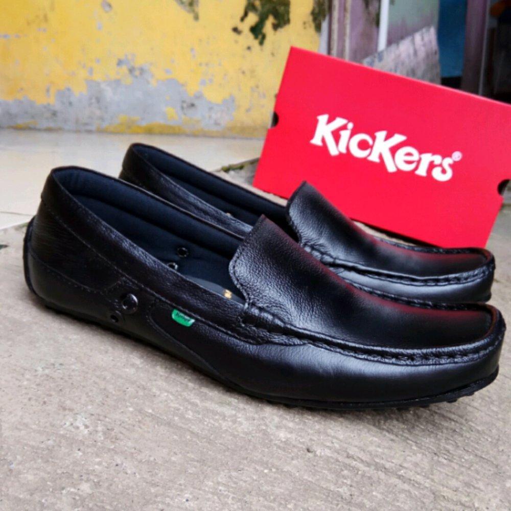 Sepatu Pantofel Pantopel Fantofel Kulit