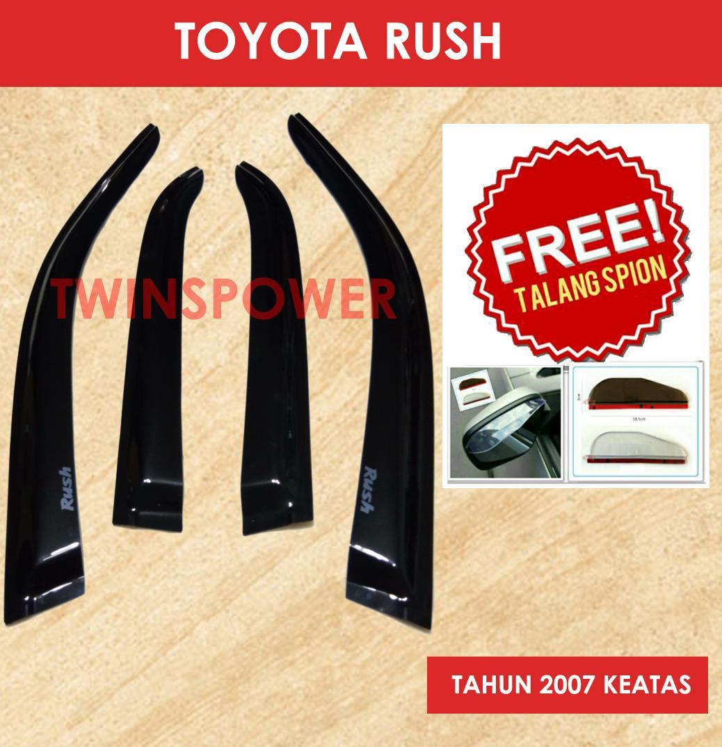 Wiper Mobil Frameless 1 Set Toyota Kijang Kapsul Free 2 Pcs Talang Source · Talang Air. Source · Talang Air Mobil Toyota Rush + FREE Talang Spion