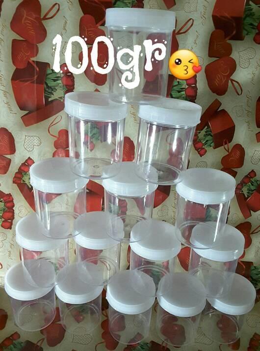 Cup Slime 100gr 12 Pcs Isi Selusin/ Wadah Slime Unik