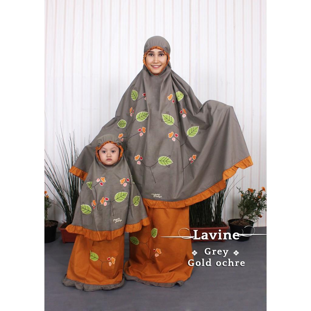 Mukena Couple Ibu Anak Cantik Fathiya Lavine M