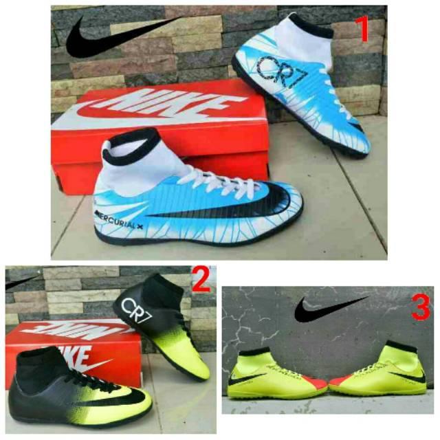 Sepatu futsal Pria Nike CR7 terbaik Import
