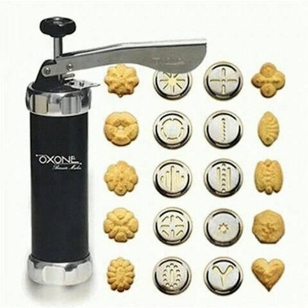 Biskuit Maker / Cetakan Kue Kering Oxone - Peclji